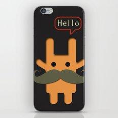 Hello Mustache iPhone & iPod Skin