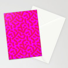 Hot Pink Cheese Doodles /// www.pencilmeinstationery.com Stationery Cards