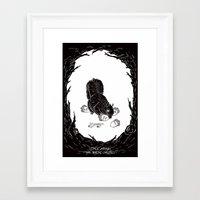 Little Acorns - The Whit… Framed Art Print