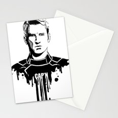 Avengers in Ink: Captain America Stationery Cards