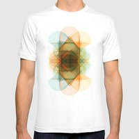 cones Mens Fitted Tee White SMALL