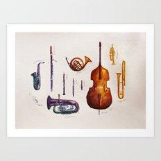 Wind Orchestra Art Print