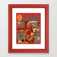Captain Obvious! Framed Art Print