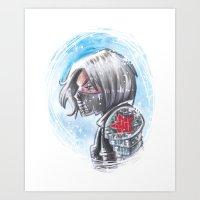 Winter Soilder Art Print