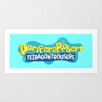 PoriferaRobert TetragonT… Art Print