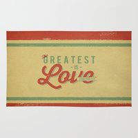 The Greatest is Love Rug