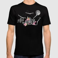 Magical Attack SMALL Mens Fitted Tee Black