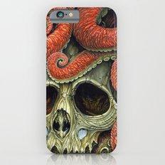 orange tentacles skull Slim Case iPhone 6s