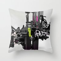 'RUSH'TWO Throw Pillow