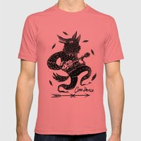 Come Dance Mens Fitted Tee Pomegranate SMALL