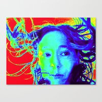 Thermal ME Canvas Print