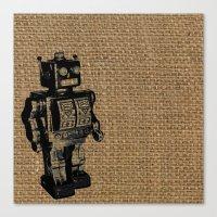 Automaton Canvas Print