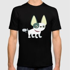 Frenchie Mens Fitted Tee Black SMALL
