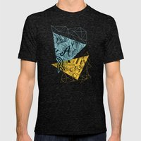 Nature Mens Fitted Tee Tri-Black SMALL