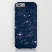 iPhone & iPod Case featuring Star Ships by Mandrie