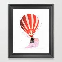 Let's Fly Away Together Framed Art Print