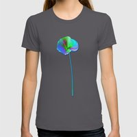 Don't Wake Me Up! Womens Fitted Tee Asphalt SMALL