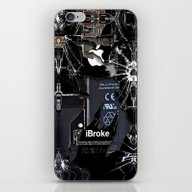 iPhone & iPod Skin featuring Broken, Rupture, Damaged… by Three Second