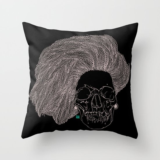 She is CHANEL Throw Pillow