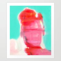 Electric Obake #43 Art Print