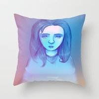 Monotone II Throw Pillow