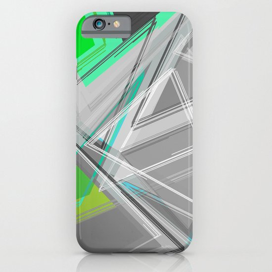 ∆Green iPhone & iPod Case