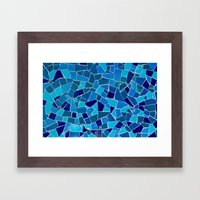 'Mosaic Tile' Framed Art Print