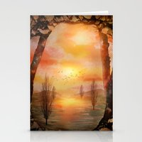 Calling The Sun XX Stationery Cards