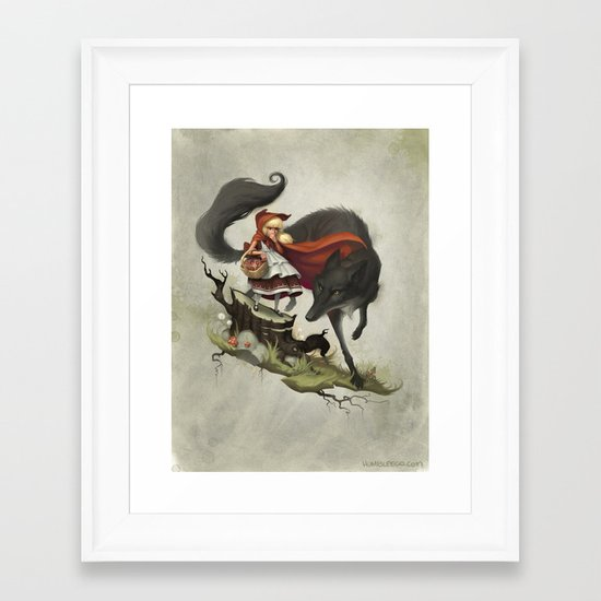 """""""Unto an evil counsellor, close heart and ear and eye..."""" Framed Art Print"""