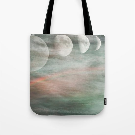 On Moonlight and Rainbows Tote Bag