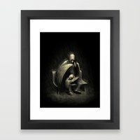 Two Wings and a Prayer Framed Art Print
