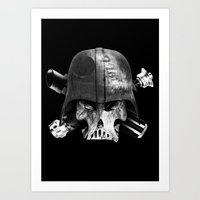 Darth Bones Art Print