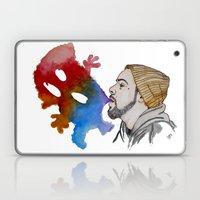 Strange Clouds Laptop & iPad Skin