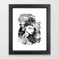 Be One With The Wild Framed Art Print