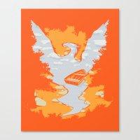 River Phoenix - Autumn Canvas Print
