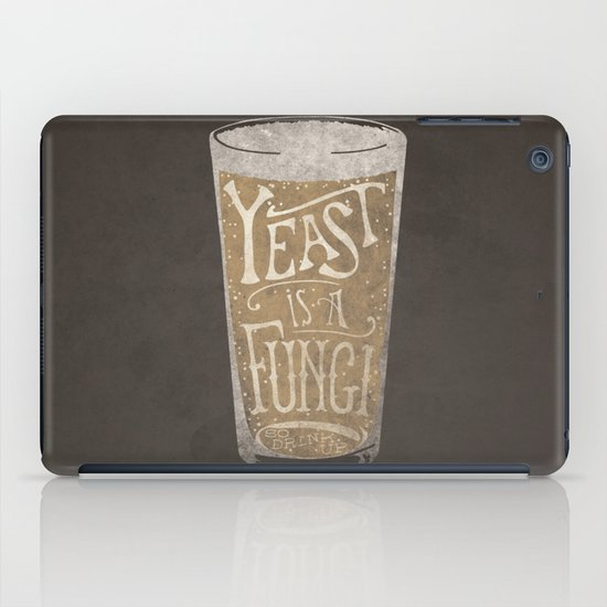 Yeast is a Fungi - Beer Pint iPad Case