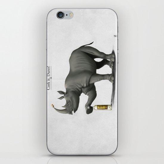 Cork it, Durer! iPhone & iPod Skin