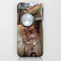 Vintage headlight iPhone 6 Slim Case