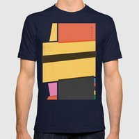 SECRET CYCLING FLAG - ME… Mens Fitted Tee Navy SMALL
