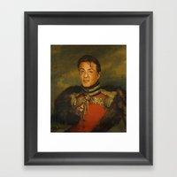 Sylvester Stallone - Rep… Framed Art Print