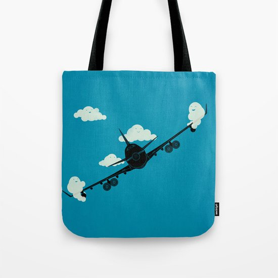 Seesaw in the Sky Tote Bag
