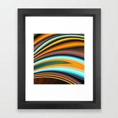 Abstract Fractal Colorwa… Framed Art Print
