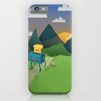 iPhone & iPod Case featuring Over The Hills by mrbiscuit