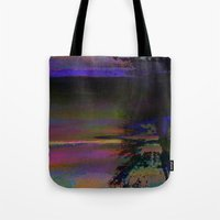 19-46-12 (Black Hole Glitch) Tote Bag