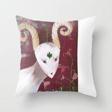 Peace-Bhoomie Throw Pillow