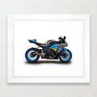 Honda CBR Fireblade. Framed Art Print