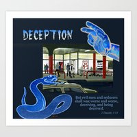 Deception Art Print