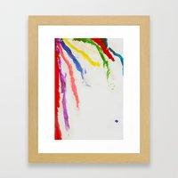 Rainbow Of Color Framed Art Print