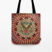 Vintage Owl Tote Bag