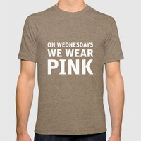 Mean Girls #11 – Pink … Mens Fitted Tee Tri-Coffee SMALL